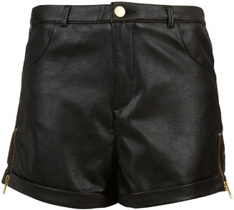 Topshop Tall Zip Side Shorts