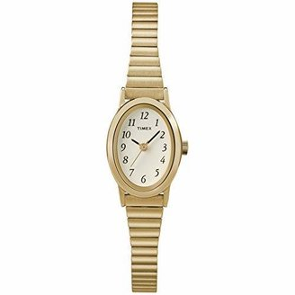 Timex Women's T21872 Cavatina Gold-Tone Stainless Steel Expansion Band Watch