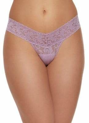 Hanky Panky Laced Low-Rise Thong