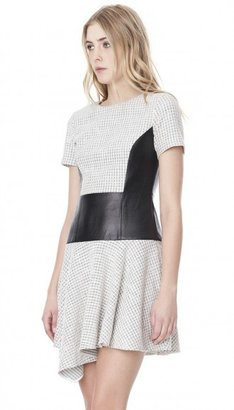 Tibi Whitby Check Knit Dress