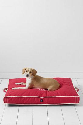 Lands' End Rectangular Canvas Dog Bed Cover