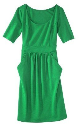 Merona Petites Elbow-Sleeve Ponte Dress - Assorted Colors