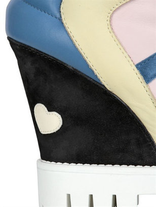 90mm H234 Attractive Wedge Sneakers