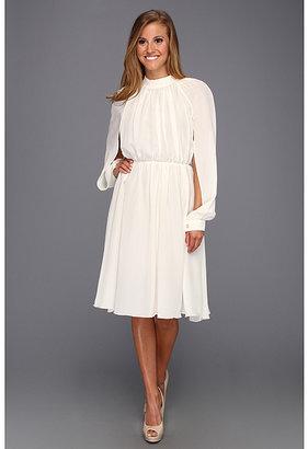 Bri Seeley Chloe Silk Crepe De Chine Dress