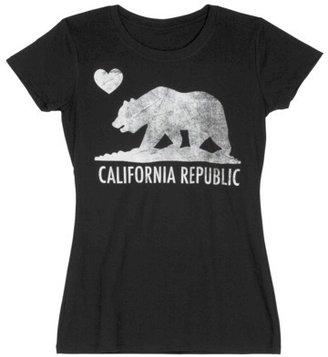 Junior's California Republic Graphic Tee