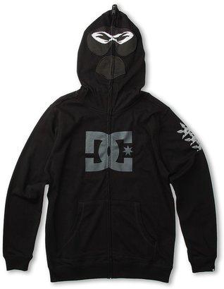 DC Kids - Ninja Hoodie (Big Kids) (Black) - Apparel