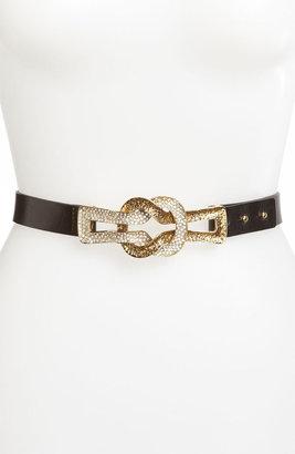 St. John Knot Hardware Leather Belt