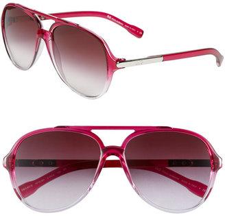 D&G 'Trend' Aviator Sunglasses