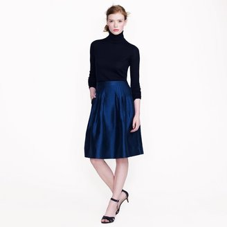 J.Crew Collection organza skirt