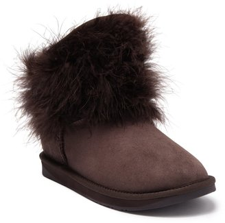 Australia Luxe Collective Montana Genuine Sheepskin Fur Lined Lace-Up Boot