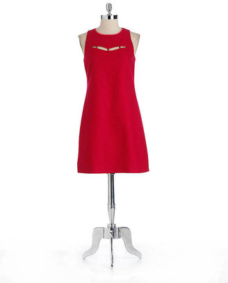 Elie Tahari Tanya Sleeveless Cutout Dress