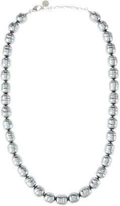 Majorica Baroque Pearl Necklace, Green