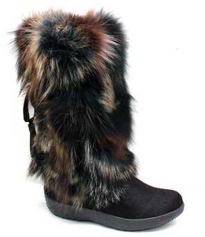 "Tecnica Yaghi 3"" Brown Fur Winter Boots"