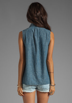 Marc by Marc Jacobs Corey Chambray Top
