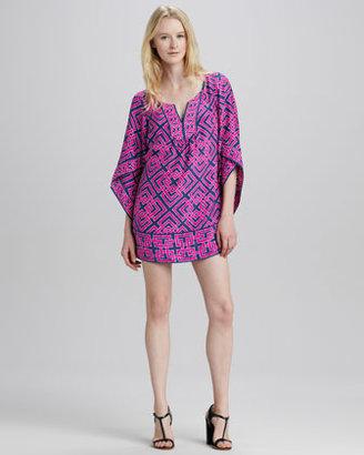Alice & Trixie Tinsley Geometric-Print Tunic Dress