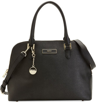 DKNY Handbag, Saffiano Round Satchel