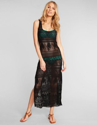 Figleaves Maria Bonita by PHAX Luxury Crochet Maxi Dress