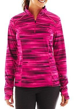 JCPenney XersionTM Half-Zip Pullover - Tall