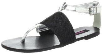 Dollhouse Women's Flashy Thong Sandal