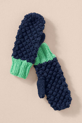 Lands' End Canvas Women's Chunky Knit Mittens