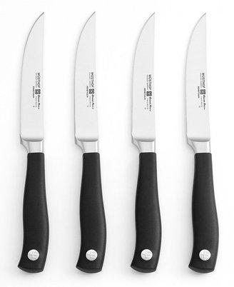 Wusthof Grand Prix II Steak Knife Set, 4 Piece