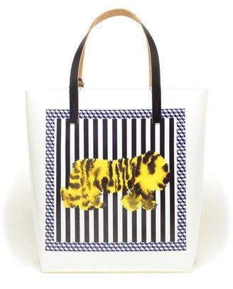Marni Printed Shopper Bag