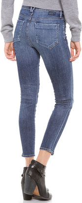 Gold Sign Glam Skinny Jeans
