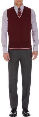 Brooks Brothers Contrast Back Sweater Vest