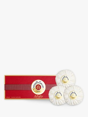 Roger & Gallet Jean-Marie Farina Perfumed Soap Gift Set, 3 x 100g
