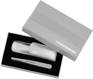 Tweezerman Clear Crystal Slant Tweezers