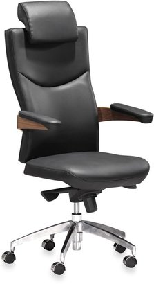 Bed Bath & Beyond Zuo® Modern Chairman Office Chair in Black