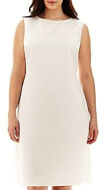JCPenney 9 & Co.® Jacquard Shift Dress - Plus