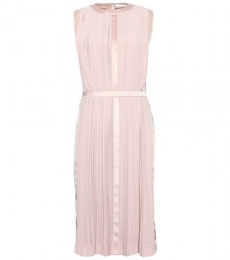 Chloé SILK CREPE PLEATED DRESS