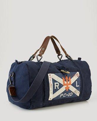 Polo Ralph Lauren Sail-Rope Canvas Duffel Bag
