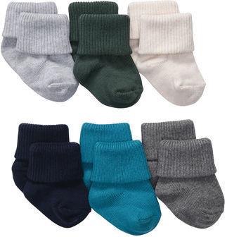 Carter's 6-Pack Knit Socks