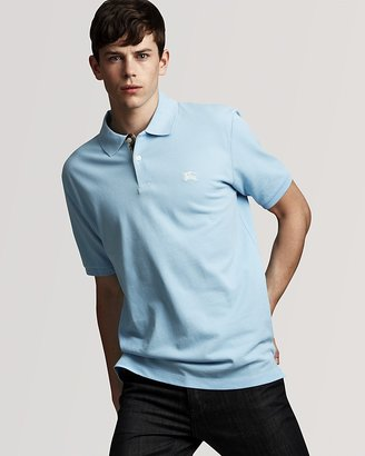 Burberry Classic Fit Short Sleeve Polo