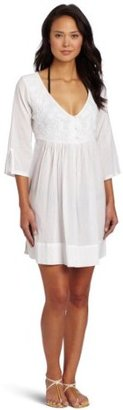 Shoshanna Women's Azalea Floral Embroidered Cover Up