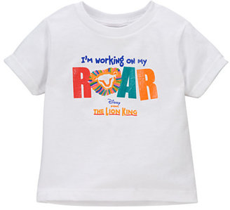 Disney Lion King: The Broadway Musical ''I'm Working on My Roar'' Tee for Kids