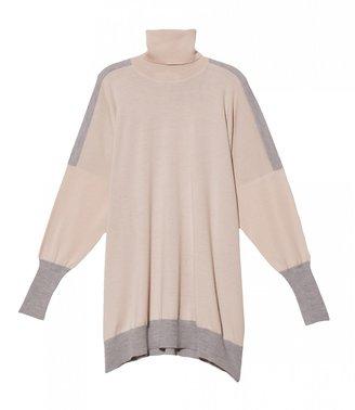 Maison Martin Margiela Color Block Turtle Neck Sweater