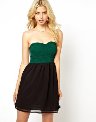 Club L Chiffon Prom Dress