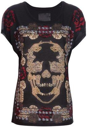 Philipp Plein snake skull t-shirt