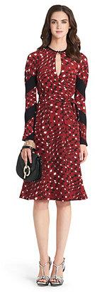 Diane von Furstenberg Judith Silk Wrap Dress