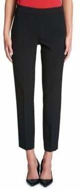 DKNY Cropped Straight-Leg Pant
