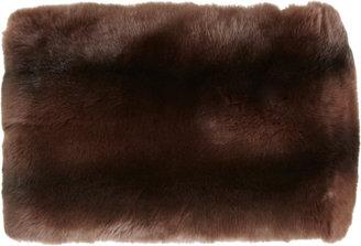 Barneys New York Fur Tube Scarf
