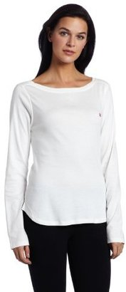 Tommy Hilfiger Women's Boat Neck Long Sleeve Sleep Shirt