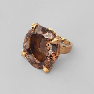 Stephen Dweck Bronze Quartz Ring