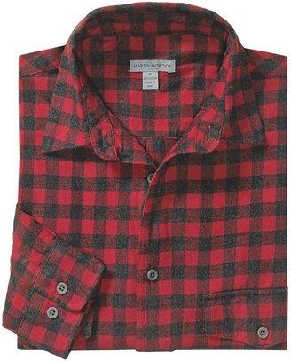 Martin Gordon Flannel Check Shirt - Long Sleeve (For Men)