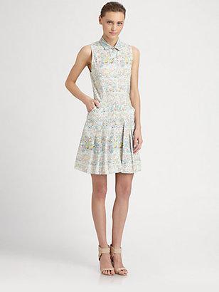Cacharel Floral Tennis Dress