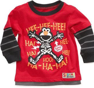 Nannette Baby Shirt, Baby Boys Sesame Street Layered Long-Sleeved Top