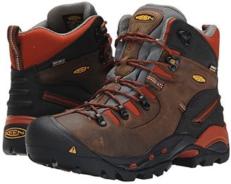 Keen Pittsburgh Soft Toe (Cascade Brown/Bombay Brown) Men's Work Boots